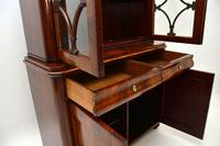 Antique French Walnut Bookcase on Cupboard (8 of 11)