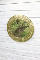Arts & Crafts Movement Scottish / Glasgow School Circular Wall Mirror c.1900 (18 of 24)