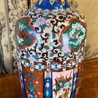 19th Century Japanese Cloisonné Vase (4 of 4)