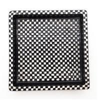 "Stig Lindberg - Gustavsberg Scandinavian Art Pottery 8""sq Domino Dish c.1955"