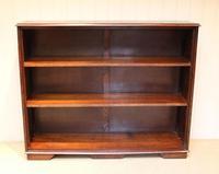 Large Oak Open Bookcase (6 of 9)