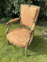 Pair of French Armchairs in Original Paint Finish (8 of 10)