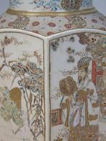 Good Pair of 19th Century Japanese Satsuma Vases (8 of 11)