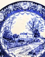 Doulton Burslem  Commemorative Plate - Whittier's Birthplace c.1895 (3 of 9)