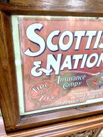 Original 1902  Vintage Framed Poster & Calendar,  Scottish Union & National Insurance Company (3 of 11)