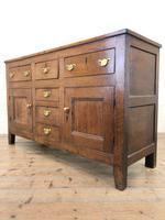 Antique 18th Century Oak Sideboard (5 of 7)