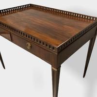 18th Century Mahogany Silver Table (10 of 11)