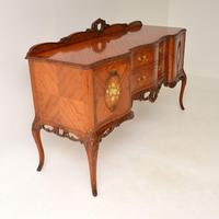 Antique French Inlaid Kingwood Sideboard (10 of 16)
