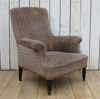 Antique Napoleon III Armchair for re-upholstery (7 of 8)