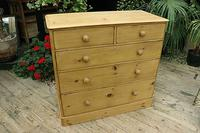 Gorgeous & Large Old Pine Chest of Drawers (2 of 7)