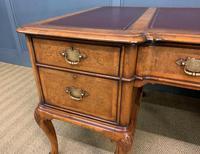 Burr Walnut Partners Writing Desk (4 of 18)