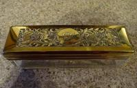 Boulle Inlaid Silver-Gilt Ladies Dressing & Jewellery Case (4 of 7)