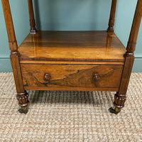 Spectacular Regency Gillows Rosewood Antique Whatnot (5 of 7)