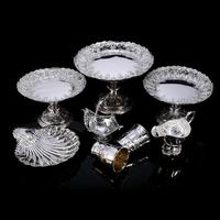 Magnificent Antique Set of Three Solid Sterling Silver Comport / Tazza Suites with Fine Chased Engravings - Martin Hall & Co 1890 (24 of 24)