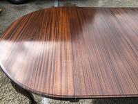 Antique Mahogany 8Ft Wind Out Extending Dining Table (12 of 14)