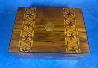 Victorian Walnut Tunbridge Ware P Box (4 of 9)