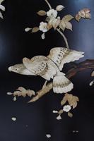 Tall Japanese Inlaid Shibayama Dressing Screen / Room Divider (13 of 13)