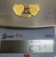 9ct. Gold Mizpah Brooch (3 of 3)