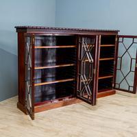 Edwardian Glazed Bookcase (2 of 7)