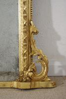 19th Century  English Gilt Arch Top Overmantle Mirror (4 of 10)