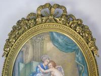 Beautiful Miniature Painting after Boucher Bathtime (4 of 6)