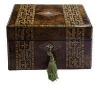 Beautiful Tunbridge Ware Box (4 of 8)