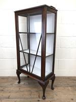 Antique Edwardian Single Door Display Cabinet (7 of 9)