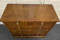 Superb Quality Walnut Chest of Drawers (4 of 18)