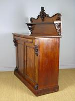 Victorian Flame Mahogany Chiffonier Cabinet Sideboard (3 of 8)