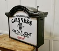 Traditional Large Guiness Hanging Pub Light 1950s (3 of 6)