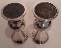 Pair of Silver Vases, Hallmarked 1934 (2 of 3)