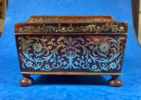 English Boulle & Brass Kingwood Edged Jewellery Box (13 of 16)