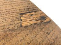 19th Century Oak Circular Tilt Top Tripod Table (3 of 11)