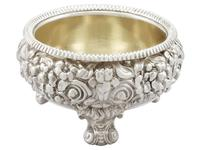 Sterling Silver Salts - Antique George III 1818 (4 of 9)
