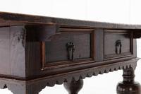17th Century Flemish Oak Side Table (6 of 7)