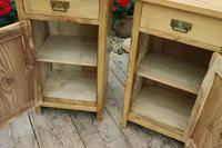 Fantastic & Large Pair of Old Stripped Pine Bedside Cabinets - We Deliver! (3 of 9)