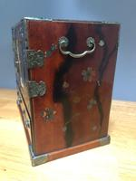 Antique Oriental Lacquered Table Cabinet (6 of 11)