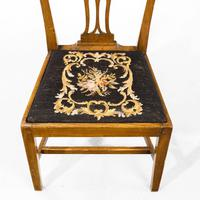 Very Good Set of Six George III Period Hepplewhite Mahogany Framed Single Chairs (7 of 7)