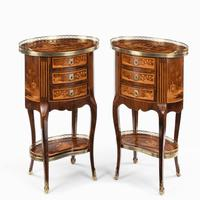 Pair of French Rosewood Occasional Tables (4 of 8)