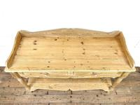 Large Rustic Pine Sideboard with Drawers (6 of 10)