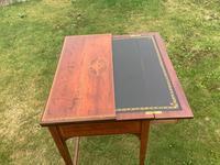 Edwardian Mahogany Ladies Writing Desk / Table (3 of 5)