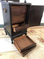 Antique French 7 Drawer Collectors Cabinet Jewellery Armoire Bijouterie (7 of 12)