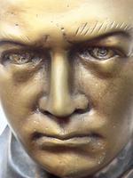 Classical Music Interest German Bronze Composer Ludwig Van Beethoven Bust Sculpture (11 of 25)