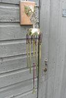 Edwardian Victory Brass Dinner Chime or Conservatory Hanging Wind Chime Circa 1905 (2 of 5)