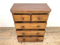 Victorian Mahogany Chest of Drawers (3 of 10)