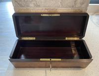 Victorian Burr Cedar Glove Box Cross Banded in Tulipwood (11 of 13)