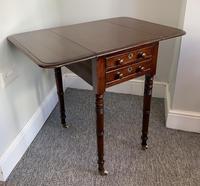 Victorian Mahogany Drop Flap Work Table (6 of 18)