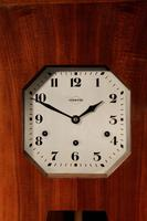 A vedette plain very stylish art deco westminster carillon walnut wall clock french circa 1935 (12 of 15)