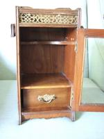 Early 20th Century Small Smoker's Cabinet (6 of 6)