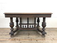 Early 20th Century Antique Oak Coffee Table (2 of 12)